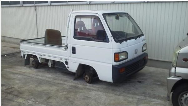 買取したアクティトラックの画像