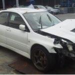 高松市で事故車買取したランエボの画像
