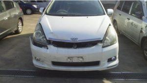 松山市で事故車買取したウィッシュの画像