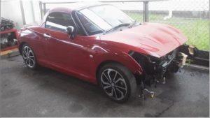 四国中央市で事故車買取となったコペンの画像