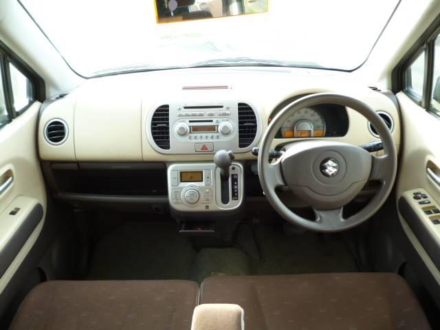 MF22 MRワゴンの車内画像