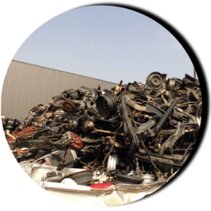 自動車リサイクル資源画像