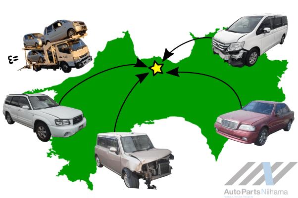 四国中引き取り無料の画像