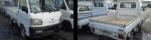 s200pハイゼットトラック廃車画像